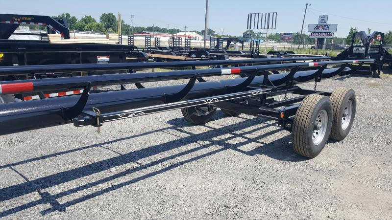 2018 Circle M 32ft Hay Trailer