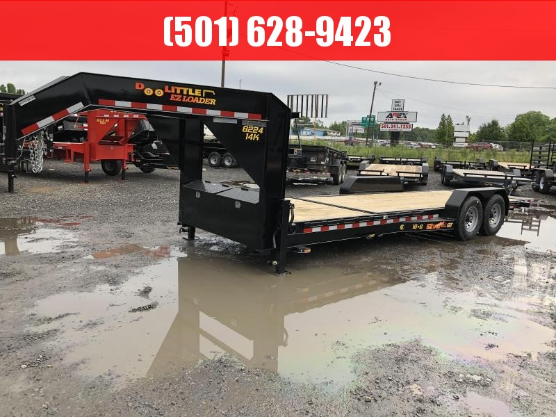2019 Doolittle Trailer Mfg Doolittle GT EZ Loader 82x24 (186) 14K GVWR Equipment Trailer