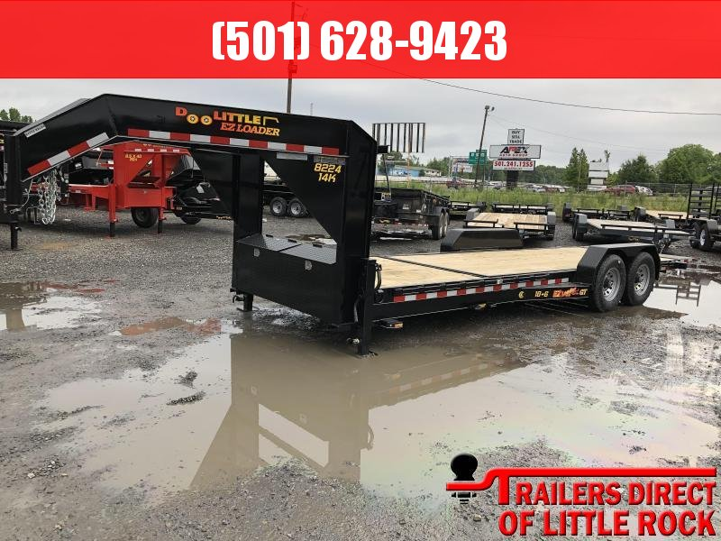2019 Doolittle Trailer Mfg Doolittle GT EZ Loader 82x24 (186) 14K GVWR Equipment Trailer in Magness, AR