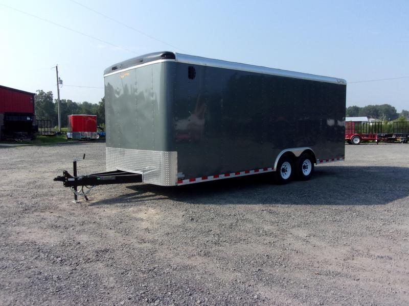 2019 Doolittle Trailer Mfg Cargomaster 8.5x20 10k Ramp Door Enclosed Cargo Trailer