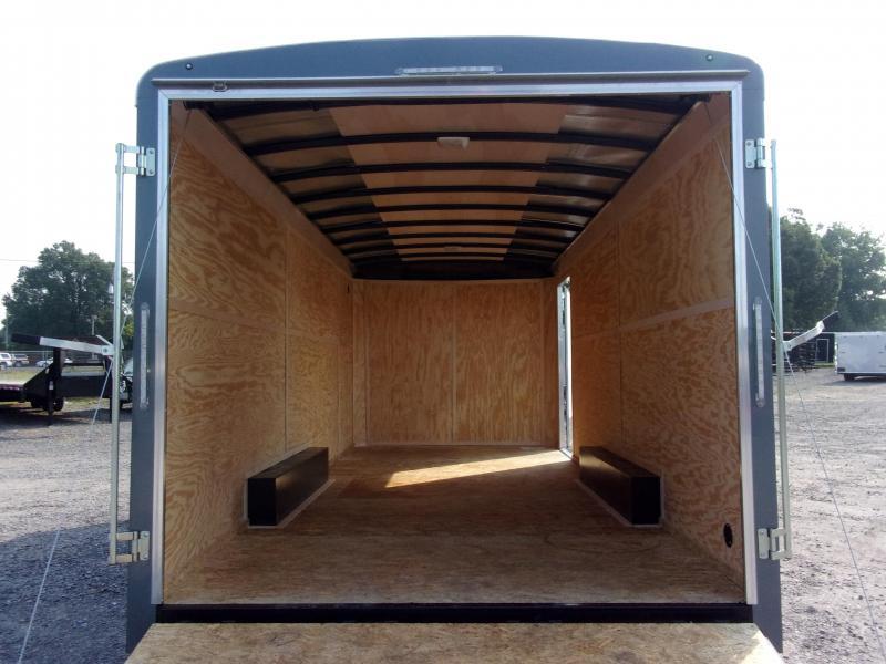 2019 Doolittle Trailer Mfg Cargomaster 8.5x20 10k Ramp Door Enclosed Cargo Trailer