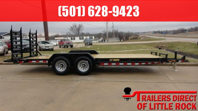 2019 DooLitttle Trailers 82 x 20 14K HD T/A CF (Stock # 78957) Equipment Trailer in Magness, AR
