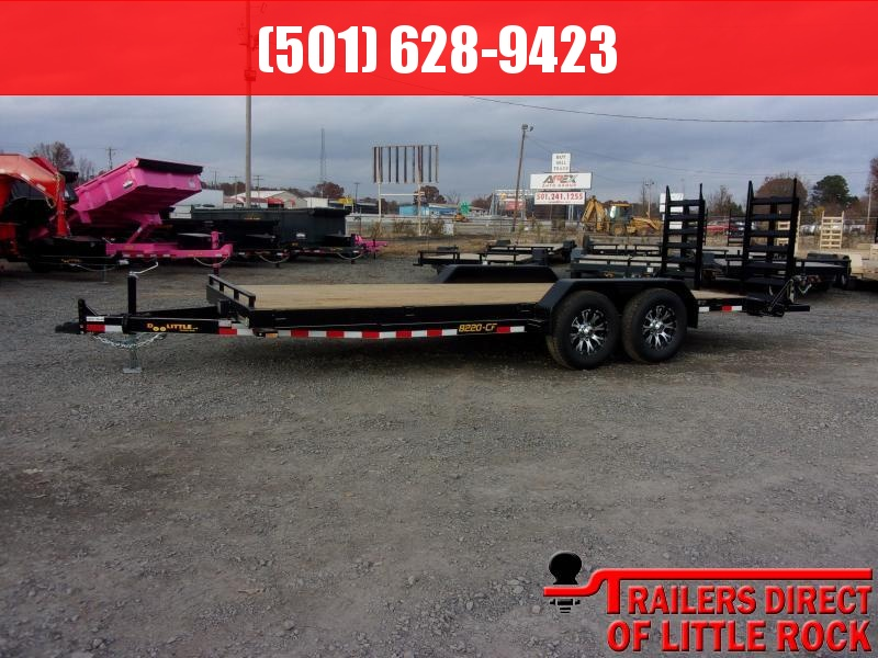 2019 Doolittle Trailer Mfg CF 82x20 14k Flip up Ramps Equipment Trailer