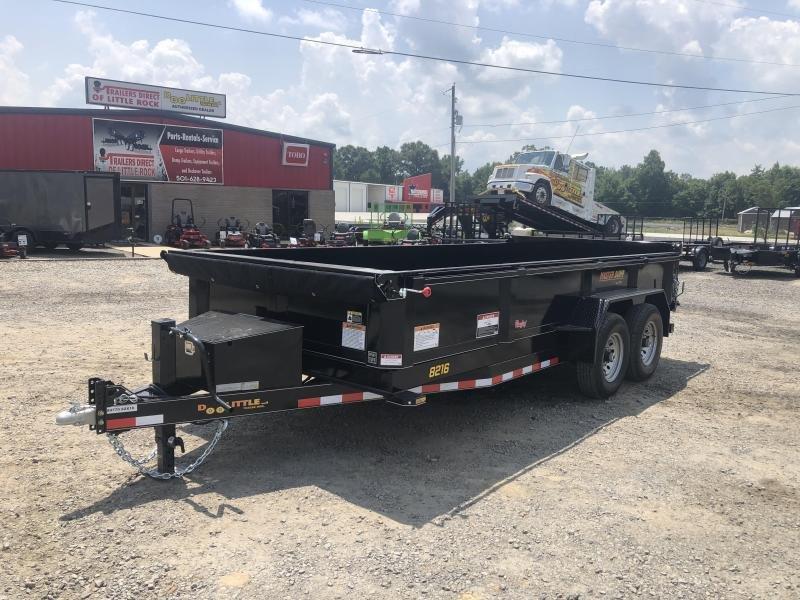 2019 Doolittle Trailer Mfg Master Dump 82x16 14k Dump Trailer