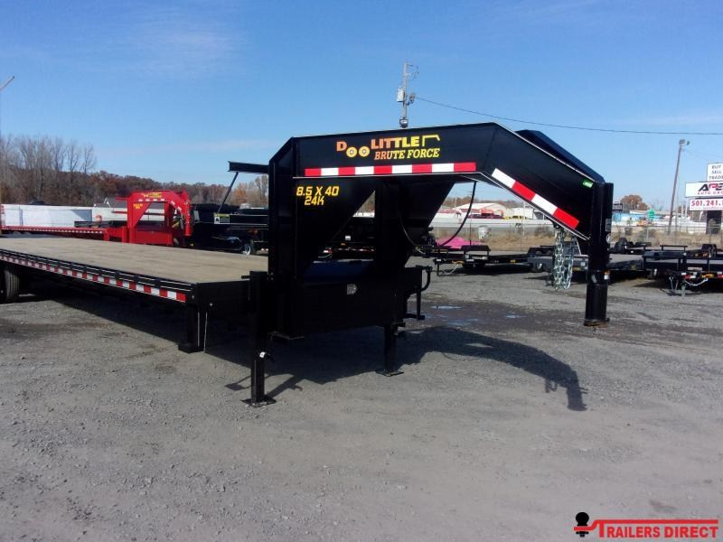 2019 Doolittle Trailer Mfg Brute Force 102x40 26k Flatbed Trailer