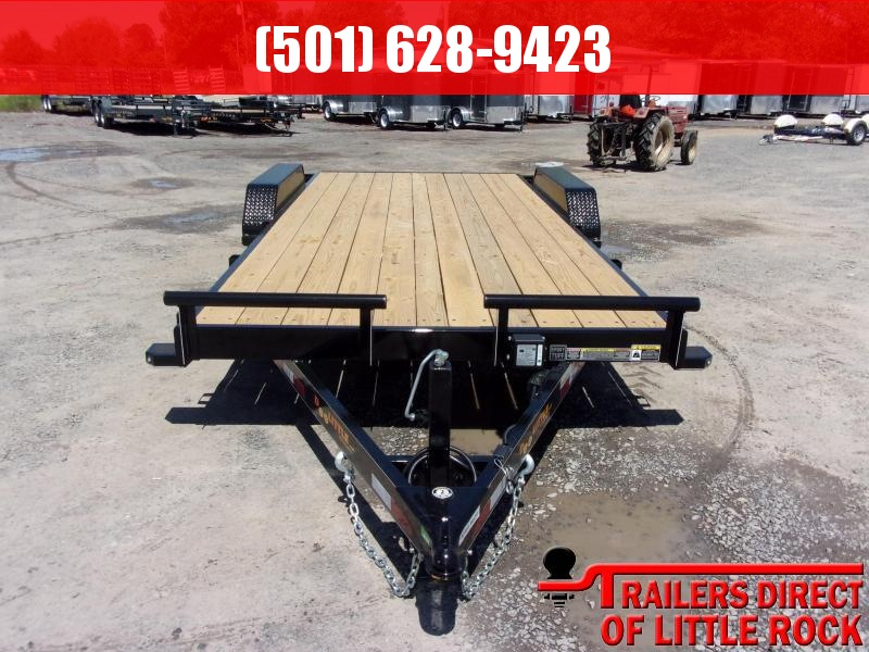 2019 Doolittle Trailer Mfg CF 84x18 TA 10k Self Store Ramps Equipment Trailer in Barton, AR