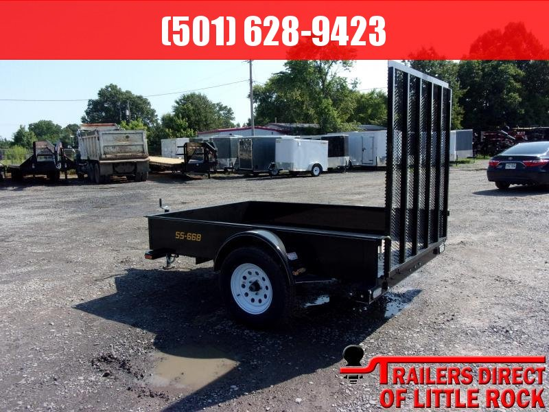 2018 Doolittle Trailer Mfg SS-Series 66x8 Utility Trailer