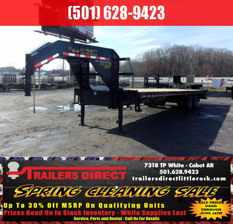 BLOWOUT! 2019 Doolittle Trailers Brute Force 102x32 22k w/ Mammoth Ramps