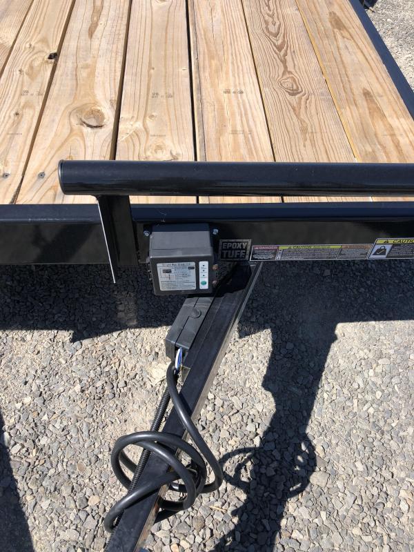 2019 Doolittle Trailer Mfg CF 84x18 TA 7k Self Store Ramps Equipment Trailer