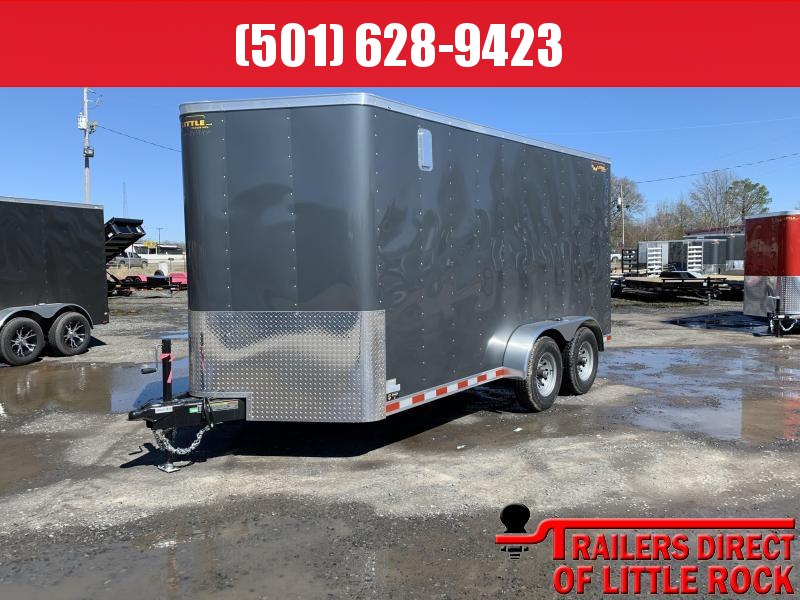 2019 Doolittle Trailer Mfg 7x14TA 10k Gray Ramp Door Enclosed Cargo Trailer in Ashburn, VA