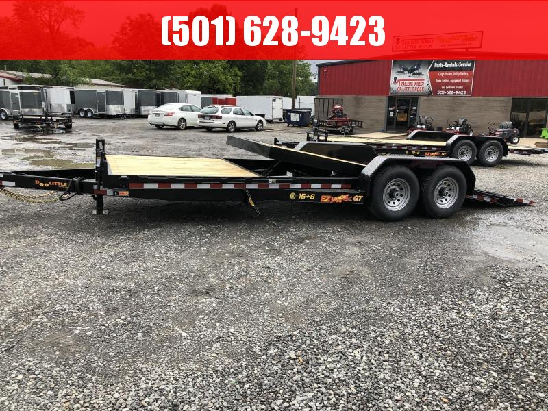 2019 DooLitttle Trailers Doolittle EZ loader 82x22 (166) 14K GVWR Equipment Trailer