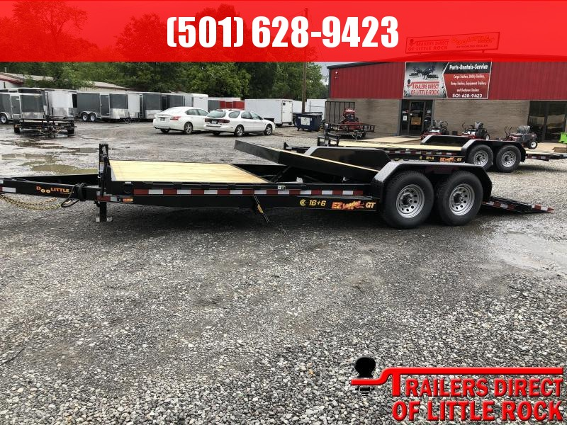 2019 DooLitttle Trailers Doolittle EZ loader 82x22 (166) 14K GVWR Equipment Trailer in Briggsville, AR