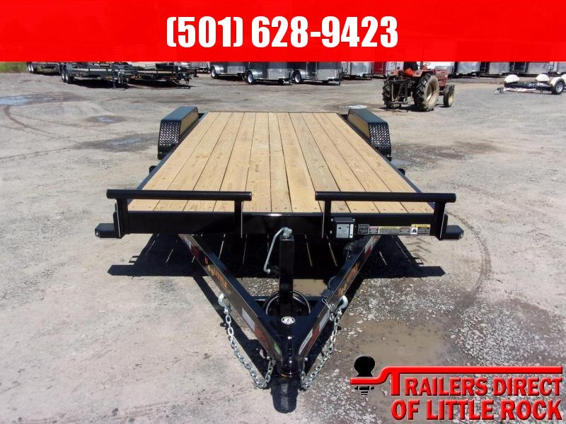 2019 Doolittle Trailer Mfg CF 84x18 TA 10k Self Store Ramps Equipment Trailer in Prattsville, AR