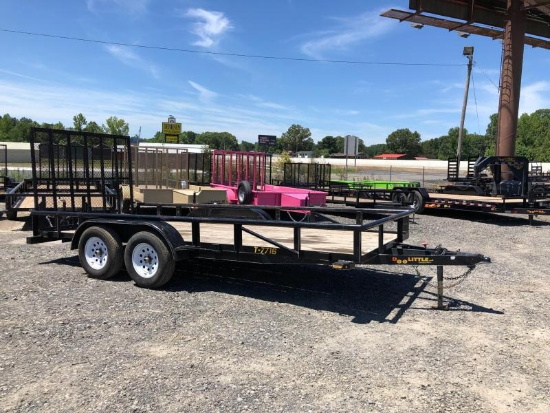 2017 Doolittle Trailer Mfg Pipe top Utility 77x16 Utility Trailer