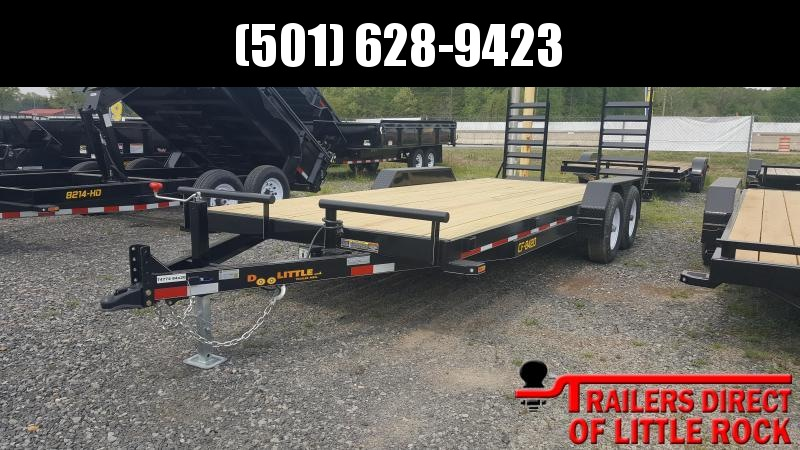 2018 Doolittle Trailer Mfg CF 84x20 10k Equipment Trailer