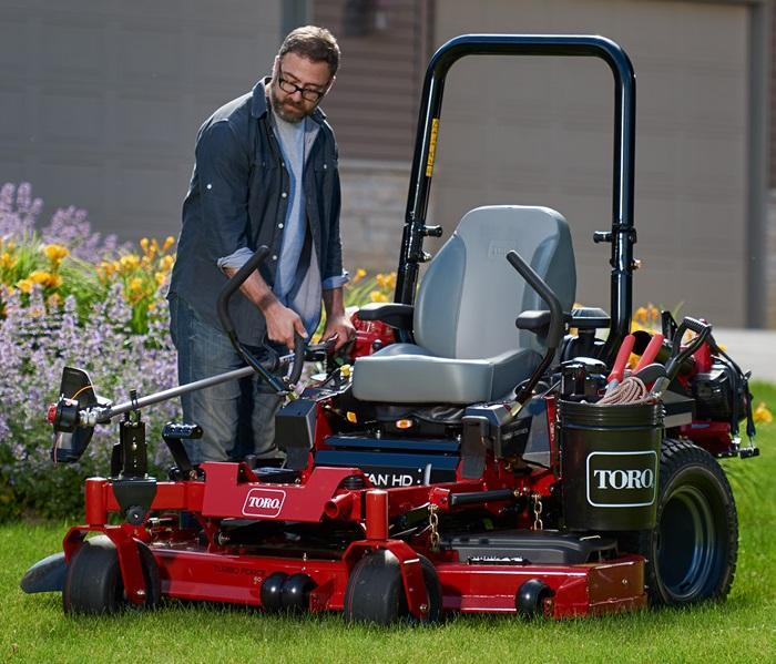 "2019 Toro 48"" TITAN HD 2000 Series MyRIDE Zero Turn Mower 74465 Lawn"