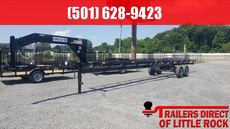 2018 Circle M 36ft Hay Trailer