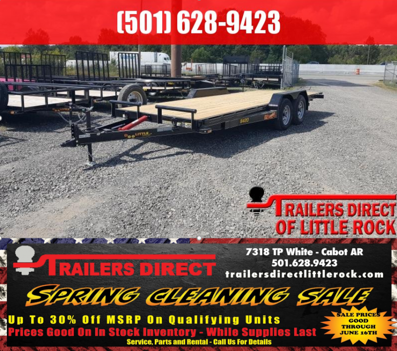 RED TAG SALES EVENT!! 2019 Doolittle Trailer Mfg EZ Loader 84x20 7k Equipment Trailer