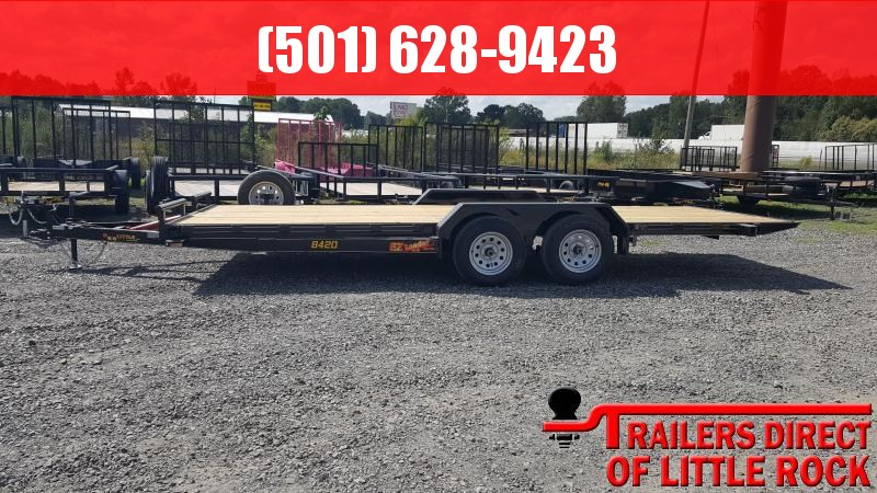 2019 Doolittle Trailer Mfg EZ Loader 84x20 7k Equipment Trailer in Briggsville, AR