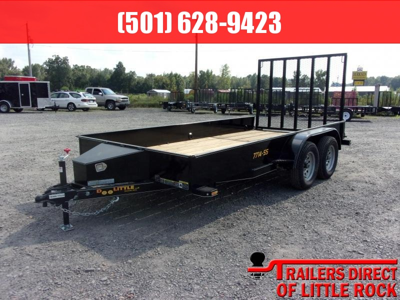 2019 Doolittle Trailer Mfg SS-77X14TA Utility Trailer