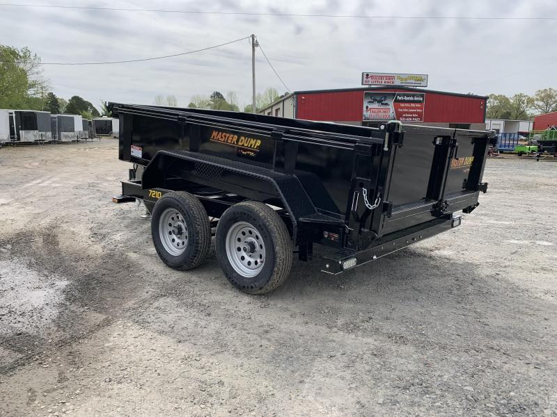 2019 Doolittle Trailer Mfg Masterdump 72x10 7k Single Cylinder Dump Trailer