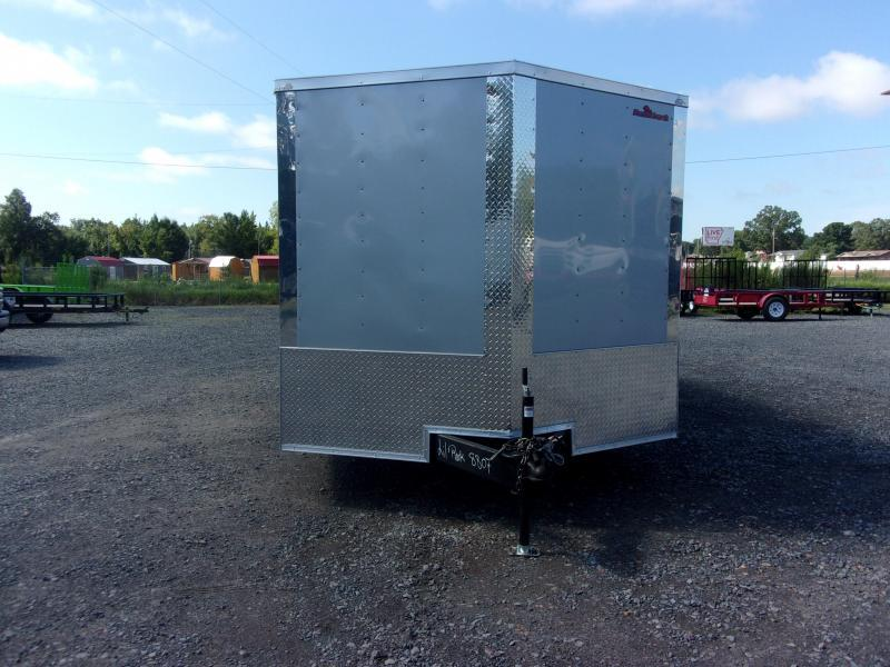 2018 Doolittle Razorback 8.5x20TA3 Silver Ramp Door Enclosed Cargo Trailer