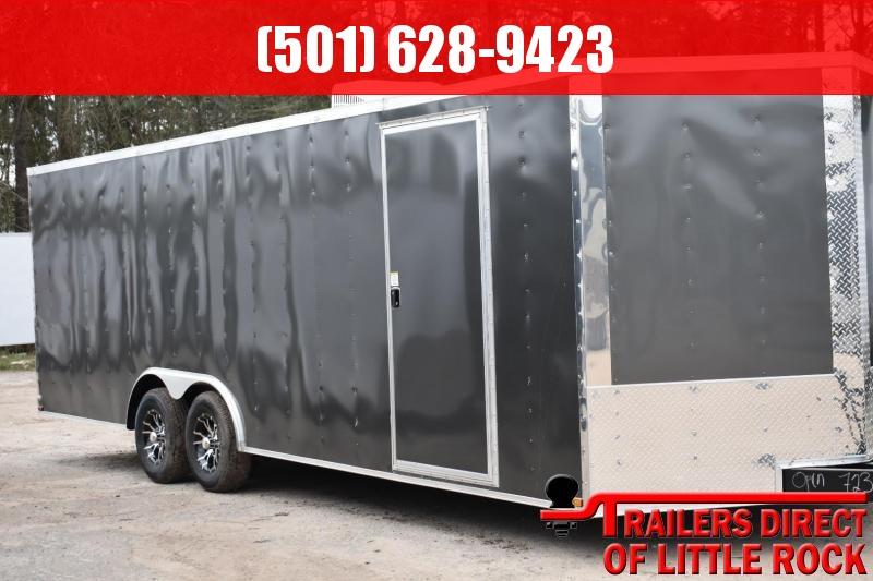 2018 DooLitttle Trailers 2018 Doolittle Razorback 8.5x28 14k V-Nose Race Enclosed Cargo Trailer in Ashburn, VA