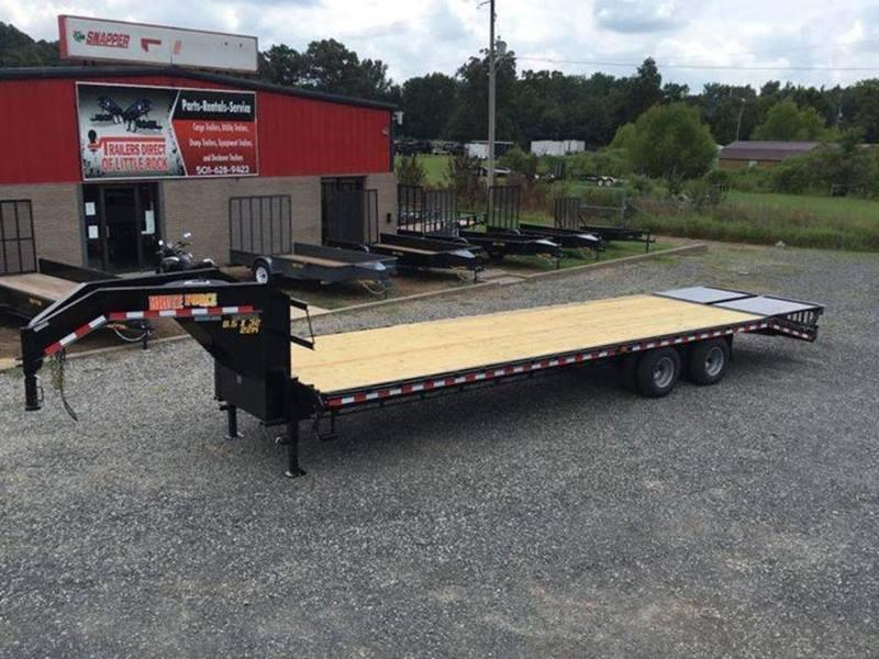 2017 Doolittle Trailers BRUTEFORCE 102X32 22K 5' DOVETAIL W/ 2 MAMMOTH RAMPS