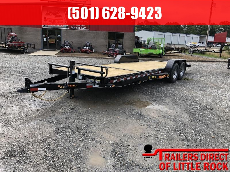 2019 Doolittle Trailer Mfg 82x24 (186) GT EZ Loader Equipment Trailer in Griffithville, AR