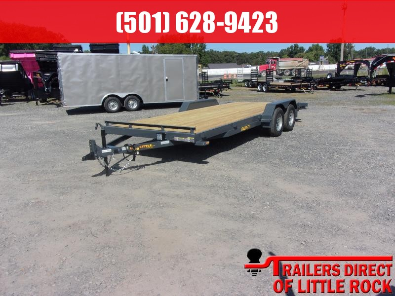 2019 Doolittle Trailer Mfg CF 84x20TA 7k Self Store Ramps Equipment Trailer in Prattsville, AR