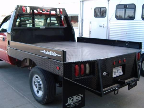 2019 Bradford Built Steel Flatbed