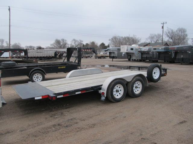 2012 PJ Trailers 83 x 18 Tilt Equipment Trailer