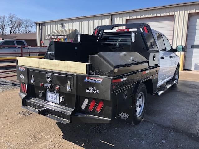 2019 Besler Industries 8 Box Skirted Steel Flatbed