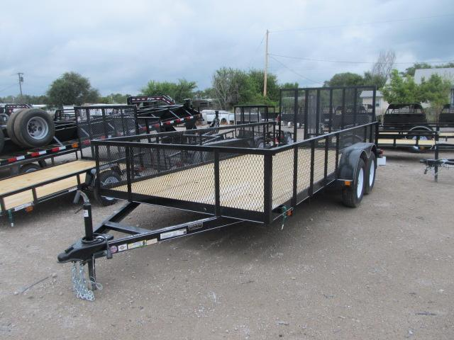 2019 Carry-On 7 x 16 Landscape / Utility Trailer