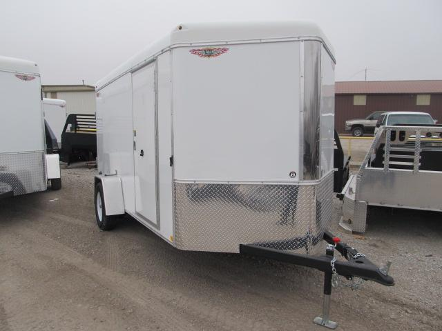 2019 H and H 6 x 12 Enclosed Cargo Trailer