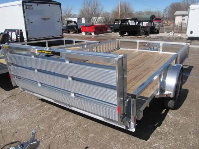 "2019 H and H 82"" x 12 Aluminum Utility Trailer"