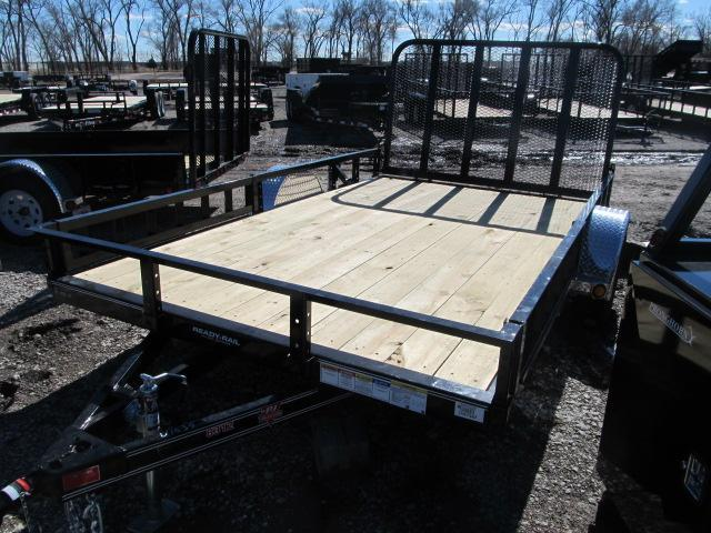 "2020 PJ Trailers 83"" x 12 Channel Utility Trailer"