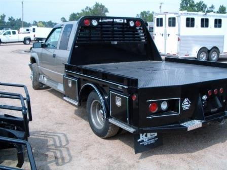 2019 J and I 4-Box Steel Flatbed Dually