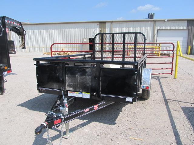 "2019 PJ Trailers 72"" x 10' Channel Utility Trailer"