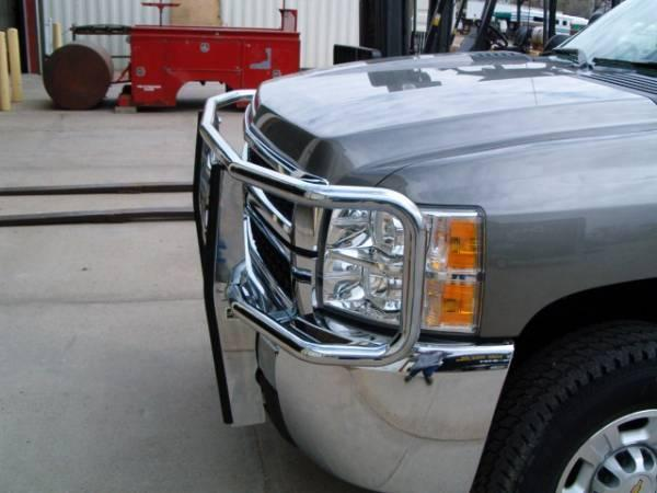 2019 Chrome Grill Guard