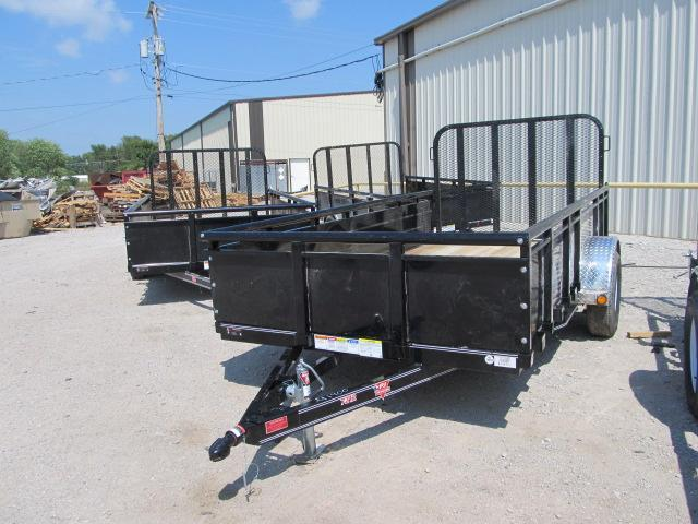 "2019 PJ Trailers 72"" x 12' Channel Utility Trailer"