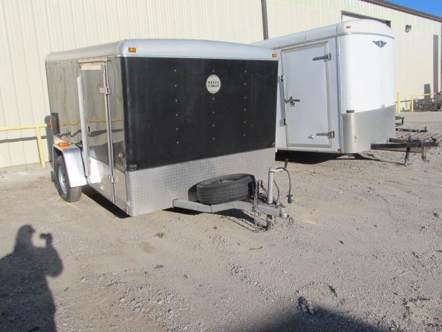 2010 Wells Cargo 7 x 10 SA Enclosed Enclosed Cargo Trailer