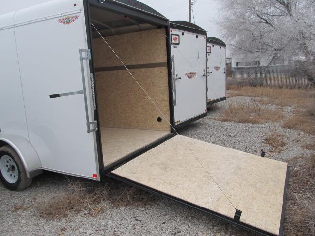 2019 H and H 7 x 16 Enclosed Cargo Trailer