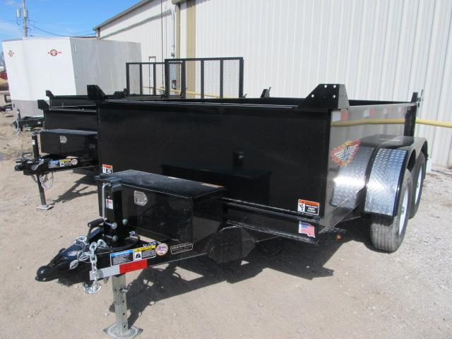 """2019 H and H 76"""" x 10 Utility Dump Trailer"""