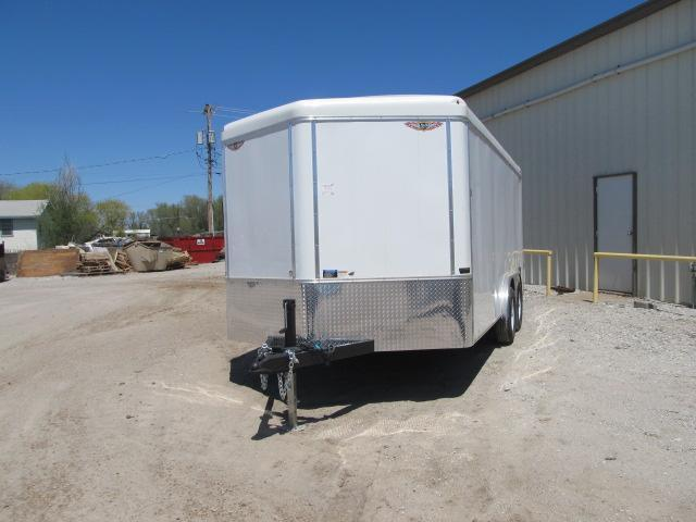 2019 H and H 8 x 16 Enclosed Cargo Trailer