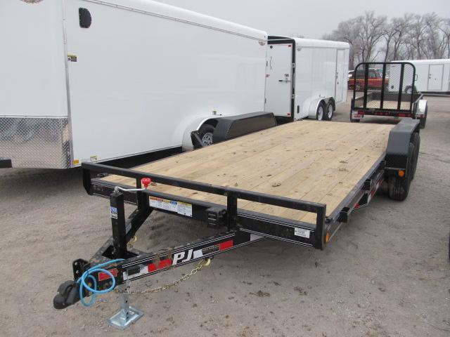 "2019 PJ Trailers 83"" x 18 Equipment Trailer"