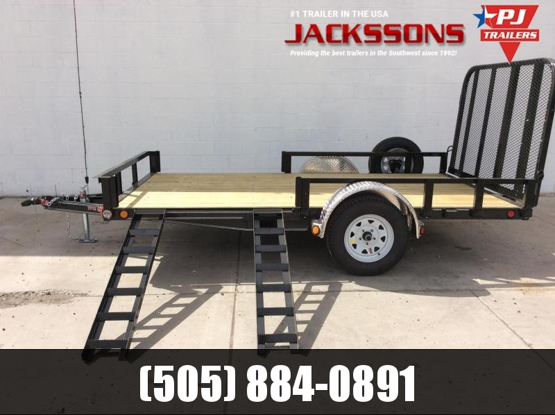 "2019 PJ Trailers 12' x 77"" Channel Utility Trailer in Ashburn, VA"