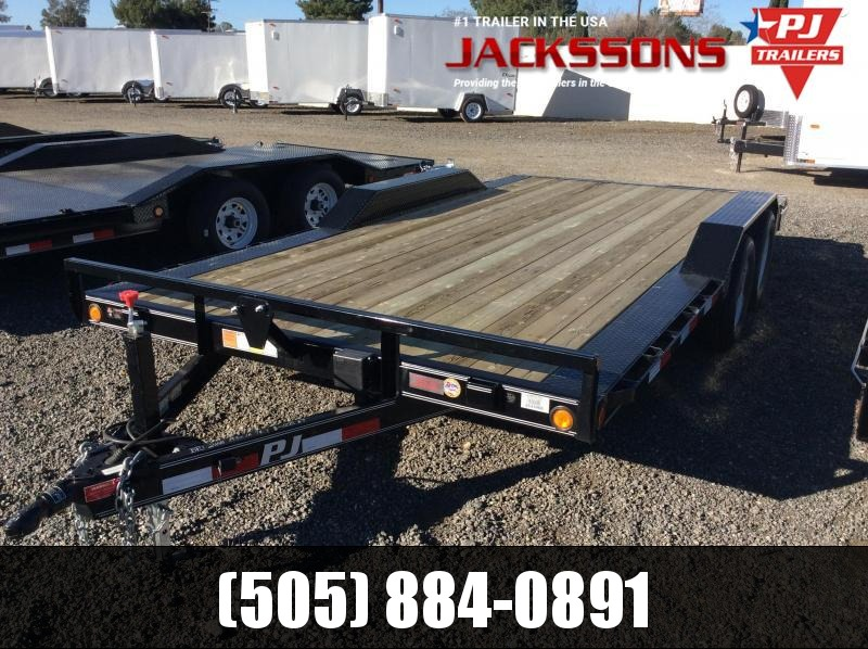 "2019 PJ Trailers 18' x 5"" Channel Buggy Hauler Trailer"
