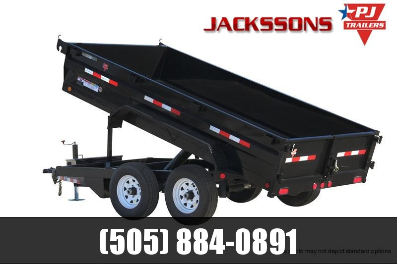 "2019 PJ Trailers 12' x 77"" Tandem Axle Dump Trailer in Ashburn, VA"