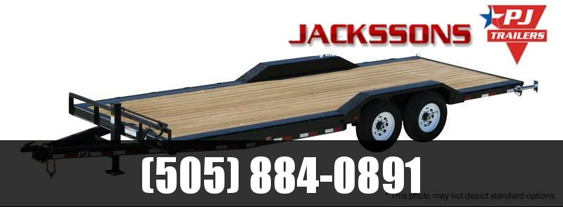 "2017 PJ Trailers 24' x 6"" Channel Super-Wide Trailer"